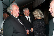 GRAYDON CARTER; ALEXANDER LEBEDEV, Evgeny Lebedev and Graydon Carter hosted the Raisa Gorbachev charity Foundation Gala, Stud House, Hampton Court, London. 22 September 2011. <br /> <br />  , -DO NOT ARCHIVE-© Copyright Photograph by Dafydd Jones. 248 Clapham Rd. London SW9 0PZ. Tel 0207 820 0771. www.dafjones.com.