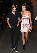 Presley Walker Gerber & Girlfriend Cayley King - 26 Sep 2017