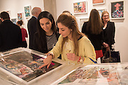 BEETA SALEK-HADDADI; SARA MAZIQ, Henry Hudson: The Rise and Fall of Young Sen – The Contemporary Artist's Progress - private view. S2,  Sothebys 31 St George Street, London