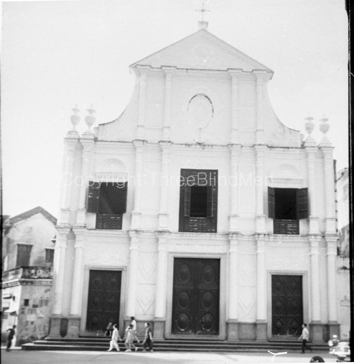 St. Dominic's church. Macau.