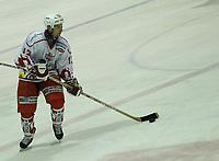 Icehockey, Stavanger, 28/09-03,<br />Stavanger Oilers - Bergen (2-3)<br />Jarno Mensonen (Bergen)<br />Foto: Sigbjørn Andreas Hofsmo