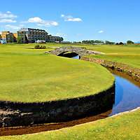 Swilcan Burn at Old Course at St Andrews, Scotland<br />