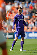 Tom Naylor of Portsmouth during the EFL Sky Bet League 1 match between Blackpool and Portsmouth at Bloomfield Road, Blackpool, England on 31 August 2019.