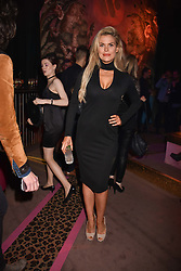 Rosalind Lipsett at the Warner Music & Ciroc Brit Awards party, Freemasons Hall, 60 Great Queen Street, London England. 22 February 2017.