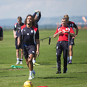 Dundee&rsquo;s Yordi Teijsse -  Dundee FC pre-season training at Dundee University Grounds, Riverside<br /> <br />  - &copy; David Young - www.davidyoungphoto.co.uk - email: davidyoungphoto@gmail.com