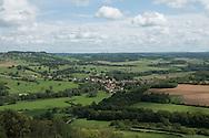 France vezelay landscape,