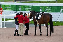 Caroline Schnarre, (GER), Del Rush - Freestyle Test Grade IV Para Dressage - Alltech FEI World Equestrian Games™ 2014 - Normandy, France.<br /> © Hippo Foto Team - Leanjo de Koster<br /> 25/06/14