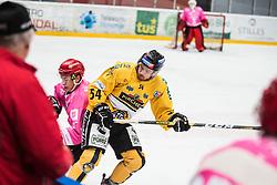 Alps Hockey League match between HC Pustertal and HDD SIJ Jesenice, on October 3, 2019 in Ice Arena Podmezakla, Jesenice, Slovenia. Photo by Peter Podobnik / Sportida