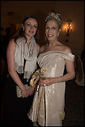 MISS ALEXANDRA MATHEW; LADY COLIN CAMPBELL;  The St. Petersburg Ball. In aid of the Children's Burns Trust. The Landmark Hotel. Marylebone Rd. London. 14 February 2015. Less costs  all income from print sales and downloads will be donated to the Children's Burns Trust.