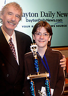 Dale Huffman (left) and Regional Winner Daniel Grigg<br />