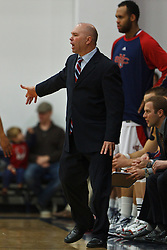Jan 9, 2012; Moraga CA, USA;  St. Mary's Gaels head coach Randy Bennett on the sidelines against the San Francisco Dons during the first half at McKeon Pavilion.  Mandatory Credit: Jason O. Watson-US PRESSWIRE