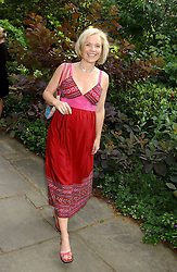 TV presenter MARIELLA FROSTRUP at the annual House of Lords v House of Commons tug of war match in aid of  of  Macmillan Cancer Relief on 21st June 2005.  A drinks reception was held in College Gardens followd by the tug of war on Victoria Tower Gardens, London.                                 <br />