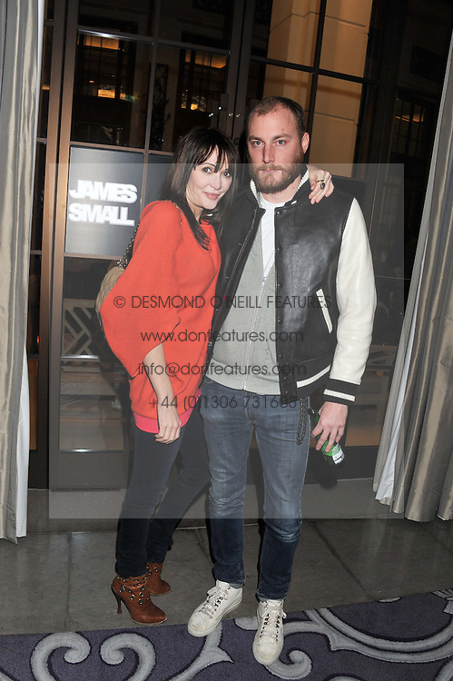 JAMES SMALL and ANNABEL NEILSON at a party hosted by Vauxhall Motors to celebrate their collaboration with menswear designer James Small following his Autumn/Winter 2012 show during London Fashion Week held at Corinthia Hotel, London on 22nd February 2012.