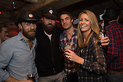 JAMES MIDDLETON; ? ADAM BIDWELL, The launch of Beaver Lodge in Chelsea, a cabin bar and dance saloon, 266 Fulham Rd. London. 4 December 2014