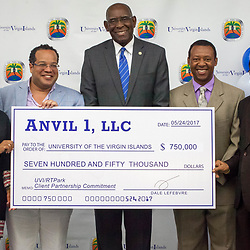 UVI RTPark Donor Check Presentation