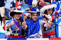 Tifosi Francia Supporters France <br /> Marseille 15-06-2016 Stade du Velodrome <br /> Football Euro2016 France - Albania / Francia - Albania Group Stage Group A<br /> Foto Massimo Insabato / Insidefoto