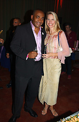 Newsreader DARREN JORDAN and TV presenter ANNA WALKER at the Pink Ribbon Party - A night of Fashion and Music in aid of 3 cancer charities, Breast Cancer Haven, Cancer Resource Centre and Positive Action on Cancer, held at the Waldorf Hilton Hotel, Aldwych, London on 19th October 2004. <br /><br />MINIMUM REPRODUCTION FEE - SEE OUR WEB SITE<br /><br />NON EXCLUSIVE - WORLD RIGHTS-