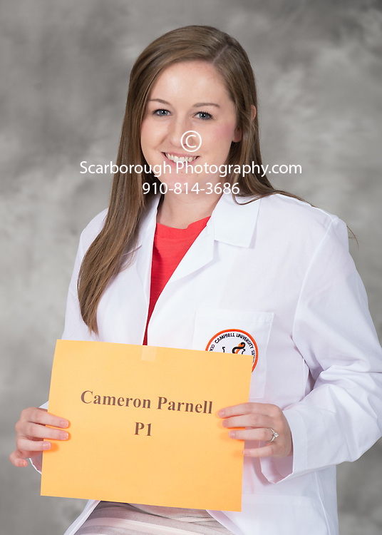 Campbell University College of Pharmacy and Health Sciences P1 portraits.