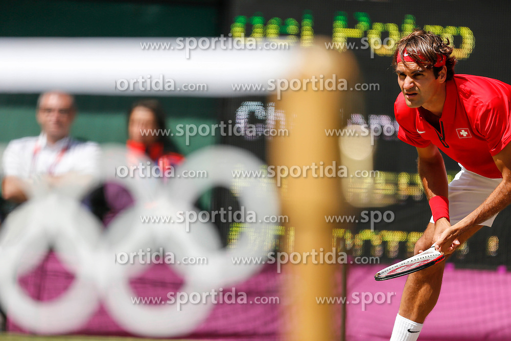 Olympic Games London 2012, Tennis men.Roger Federer (SUI).© pixathlon