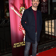 Joe McFadden arrives at Ruthless! The Musical - Arts Theatre opening night on 27 March 2018  at Arts Theatre, London, UK.