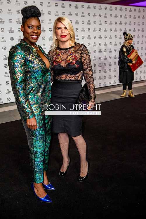 ROTTERDAM - filmfestival opening rode loper en opening van de film lemon  Imanuelle Grives Actrice   ROBIN UTRECHT