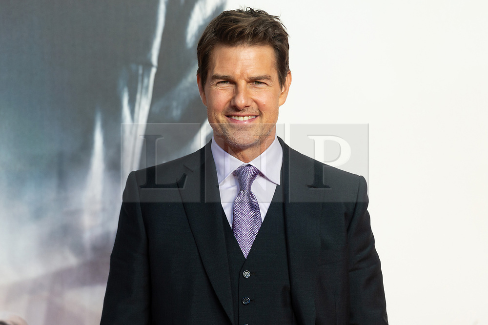 © Licensed to London News Pictures. 13/07/2018. London, UK.  Tom Cruise attends the 'Mission Impossible: Fallout' UK Film Premiere. Photo credit: Ray Tang/LNP