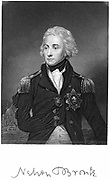 Horatio Nelson (1758-1805) Ist Viscount Nelson. English naval commander. Victor of Battle of Trafalgar at which he was fatally wounded.