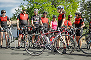 SHOT 6/10/17 9:16:14 AM - Doug Pensinger Memorial Road Ride 2017. The 52 mile ride which took place on the one year anniversary of the passing of Getty Images photographer Doug Pensinger featured more than 30 riders many of whom had ridden with Doug in the past.  (Photo by Marc Piscotty / © 2017)
