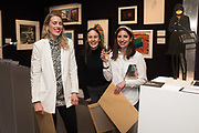 KRISTINE ERWIN, KATE MARTIN, KATE SEDGEWICK, `preview evening  in support of The Eve Appeal, a charity dedicated to protecting women from gynaecological cancers. Bonhams Knightsbridge, Montpelier St. London. 29 April 2019