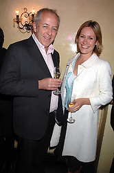 BBC Newsreaders SOPHIE RAWORTH and JEREMY BOWEN at a party to celebrate the publication of Piers Morgan's book 'Don't You Know Who I Am?' held at Paper, 68 Regent Street, London W1 on 18th April 2007.<br />