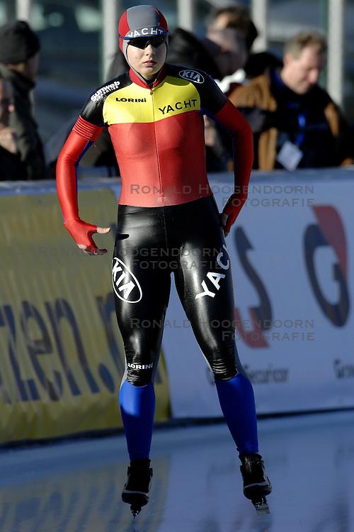 12-01-2007 SCHAATSEN: EUROPESE KAMPIOENSCHAPPEN: COLLALBO ITALIE <br /> Daniela Dumitru ROM<br /> &copy;2007-WWW.FOTOHOOGENDOORN.NL