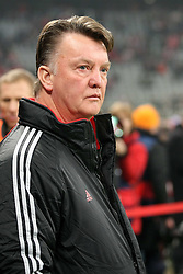 17.02.2010, Allianz Arena, Muenchen, GER, Champions League, Bayern Muenchen vs AC Florenz, Achtelfinale Hinspiel, im Bild  Louis van Gaal (Cheftrainer FC Bayern München), EXPA Pictures © 2010 for Austria only, Photographer EXPA / NPH / Straubmeier / for Slovenia SPORTIDA PHOTO AGENCY.