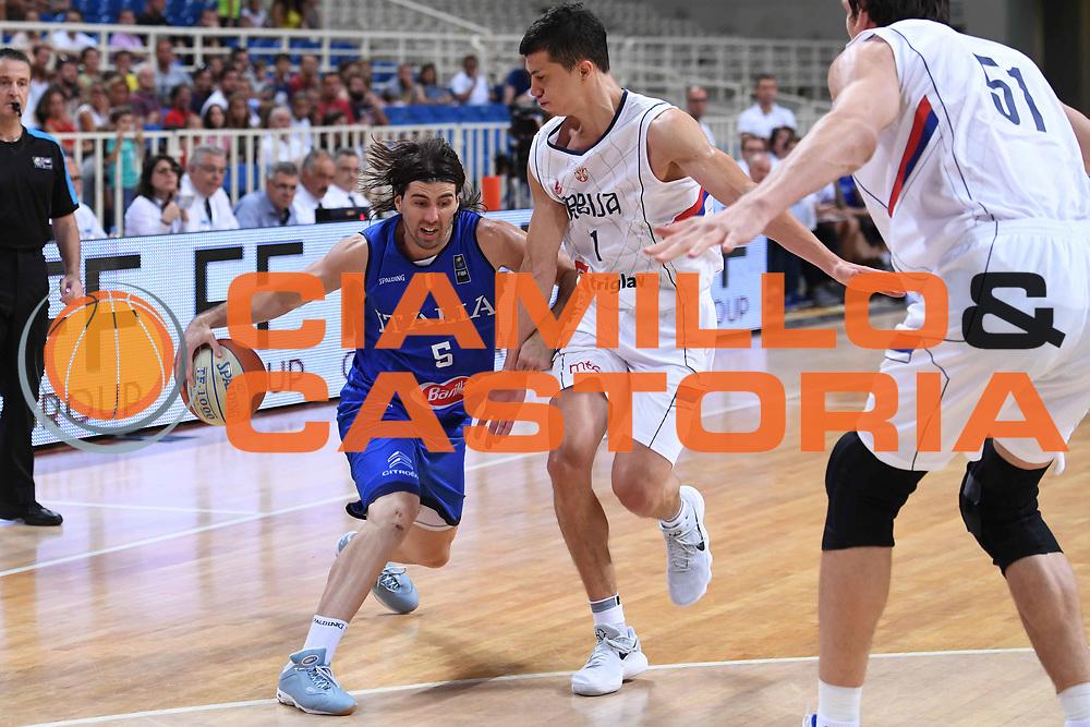 Ariel Filloy<br /> Nazionale Italiana Maschile Senior<br /> Torneo dell Acropolis<br /> Italia Serbia Italy Serbia<br /> FIP 2017<br /> Atene, 23/08/2017<br /> Foto Ciamillo - Castoria
