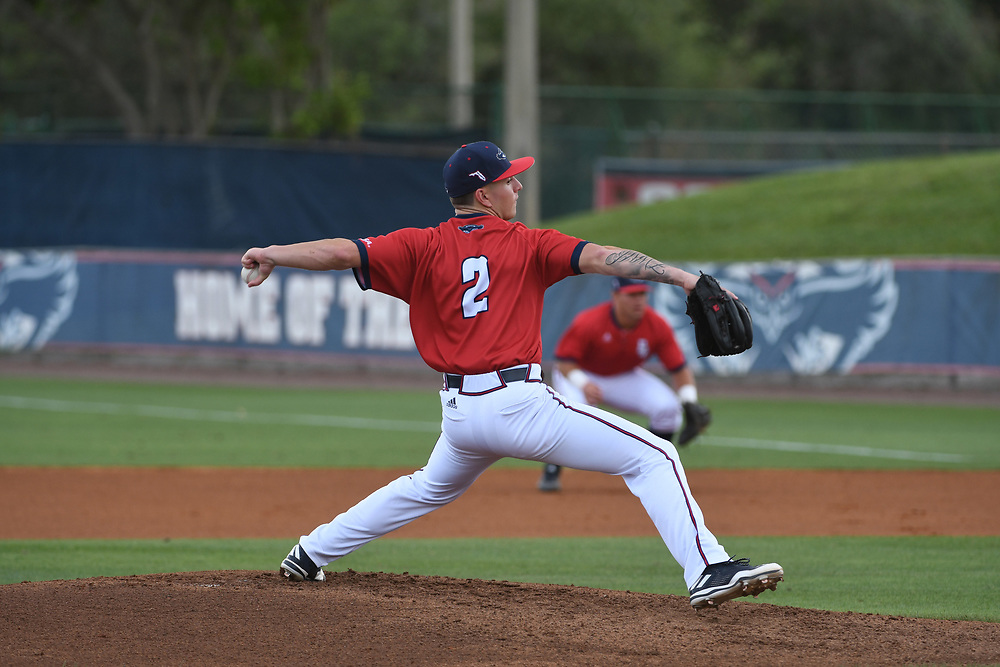 2017 FAU Baseball vs Illinois
