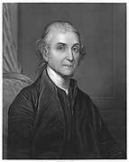 Joseph Priestley (1733-1804)  English Chemist and Non-Conformist minister. One of discoverers of oxygen. From Sheridan Muspratt 'Chemistry',London, c1860.