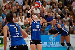 20180509 NED: Eredivisie Coolen Alterno - Sliedrecht Sport, Apeldoorn<br />Lisa Vossen (12) of Sliedrecht Sport <br />©2018-FotoHoogendoorn.nl