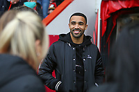 Football - 2018 / 2019 FA Cup - Third Round: AFC Bournemouth vs. Brighton & Hove Albion<br /> <br /> Bournemouth's Callum Wilson smiles and chats to fans before kick off at the Vitality Stadium (Dean Court) Bournemouth <br /> <br /> COLORSPORT/SHAUN BOGGUST