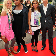 NLD/Utrecht/20080928 - Premiere Radeloos, deel cast Spangas, Kimberly Klaver, Talisia Misiedjan, Fatma Genc en Jasper Gottlieb