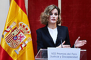 120115 Queen Letizia attends the Delivery of the 'Justice and Disability Forum' awards