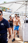 EXCLUSIVE<br />Joey Essex pictured at BH hotel in Magaluf <br />©Exclusivepix Media