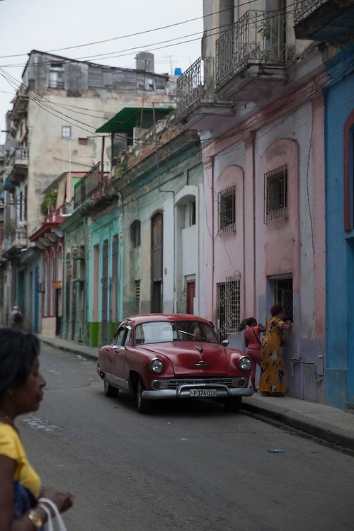 Street scene at Centro Habana, in Havana, Cuba.