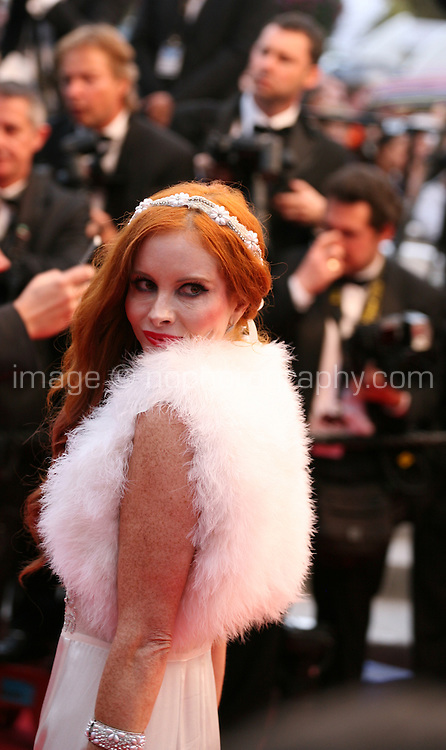Phoebe Price at the Cosmopolis gala screening at the 65th Cannes Film Festival France. Cosmopolis is directed by David Cronenberg and based on the book by writer Don Dellilo.  Friday 25th May 2012 in Cannes Film Festival, France.