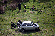 Auckland-Fatal chase ends in car over cliff in Waitakere
