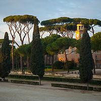 Casino dell'orologio, Rome, Siena Square, Villa Borghese, park, Roma