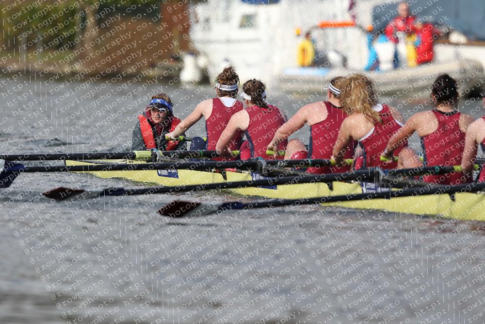 2012.02.25 Reading University Head 2012. The River Thames. Division 1. Oxford Brookes University Boat Club W.Sen8+
