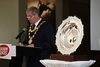 At the launch of The Galway Races summer festival 2015 was Mayor of Galway City Frank Fahy  . The launch was held at the Radisson blu Galway  .Photo:Andrew Downes:XPOSURE