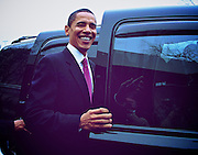 Photo By Michael R. Schmidt.Senator Barack Obama in Chicago 12.13.06 just before he announces his candidacy for President.