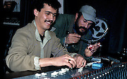 Ria Music - Khaled in his Tlemcen studio with Rachid Baba Ahmed - Algeria