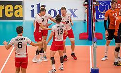 23-09-2016 NED: EK Kwalificatie Nederland - Oostenrijk, Koog aan de Zaan<br /> Nederland wint met 3-0 van Oostenrijk / Vreugde bij Oostenrijk