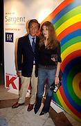 Valentino and Jemima Khan, Launch of 'Kids' by Mario Testino in aid of the Sargent Cancer Care For children, Dartmouth House, 20 October 2003. © Copyright Photograph by Dafydd Jones 66 Stockwell Park Rd. London SW9 0DA Tel 020 7733 0108 www.dafjones.com